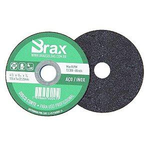 Disco De Corte Aço / Inox 4.1/2 Pol - 100 Peças
