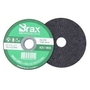 Disco De Corte Aço / Inox 4.1/2 Pol - 50 Peças
