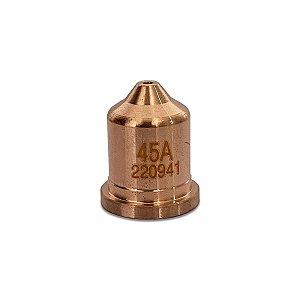 Bico Corte De Plasma 45A Modelo 220941 Para Hypertherm