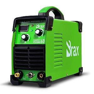 Máquina de Corte Plasma Perfect plasma 60a - Bivolt - BRAX Corta até 13mm - 2ª Geração