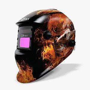 Máscara de Solda Automática com Regulagem - Tema Exterminador do Futuro