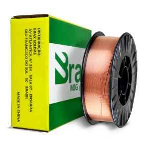 Arame Mig Brax Er70s-6 - 1.0mm 15kg