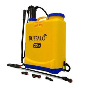 PULVERIZADOR COSTAL 20L MANUAL COM 4 BICOS - BUFFALO