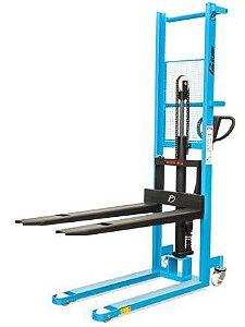 Empilhadeira Manual Hidráulica - Modelo LM516 - Capacidade de carga: 500 kg - Elevação maxima : 1600 mm - Largura externa do garfo: 535 mm