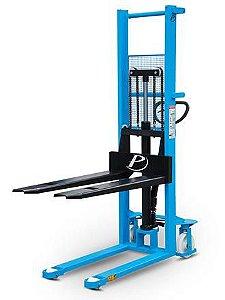 Empilhadeira Manual Hidráulica - Modelo LM1016 - Capacidade de carga: 1000 kg - Elevação maxima: 1600 mm - Largura externa do garfo: 560 mm