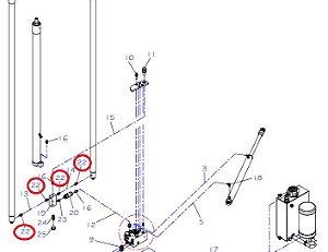 ADAPTADOR CUMA 15L X 1/ 2BPS Paletrans - Cód. 0432337