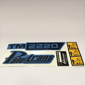KIT DE ADESIVOS - TM 2220 Paletrans - Cód. 0428072