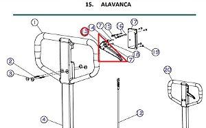 Acionador Manual - Tm 2500 - Paletrans cód. 0436035