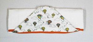 Toalha Fralda com Capuz Balões