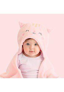 Cobertor com Capuz para Bebê