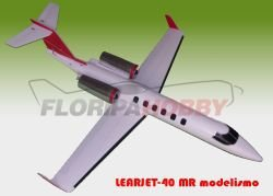 Aeromodelo Learjet-40 MR modelismo