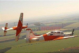 Aeromodelo Tucano T-27 Padrão AFA com Canopy Transparente