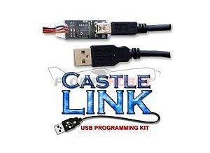 Cabo de Programação USB CASTLE - Para Brushless Speed Controllers
