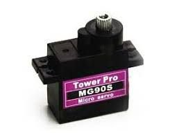 Micro Servo com Engrenagem de Metal Tower Pro MG90S