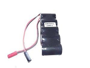 Bateria MK NiMh 6V 1200mAh Modelo Flat
