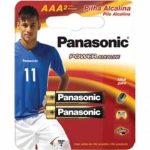 PAR Pilha AAA Panasonic Power Alkalina