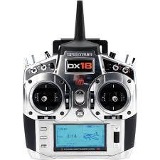 Rádio Spektrum DX18 18-Canais 2º Geração C/AR9020 e Telemetria SPM18100