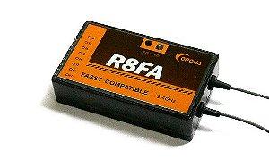 Receptor Corona R8FA 2.4Ghz Fasst - Compatível com Futaba