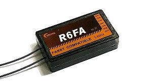 Receptor Corona R6FA 2.4Ghz FASST - Compatível com Futaba