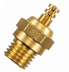 Vela O.S. - Revestida com ouro 24K - Equivalente à vela nº 8 - EDIÇÃO LIMITADA