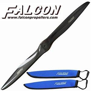 Hélice Falcon em Fibra de Carbono 23x8