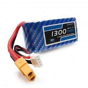 Bateria de Li-Po 1300mah 11.1v 30C/60C - XT60