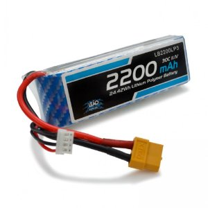 Bateria Lipo - 11.1V - 3S - 2200mAh - 30C/60C - XT60