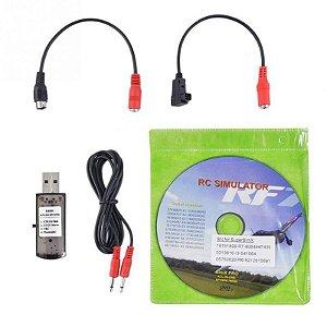 Simulador RC com Cabo USB - RF7 - Phoenix 5
