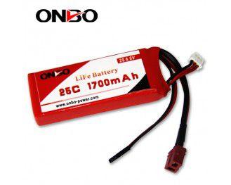 Bateria LIFE Onbo Power 1700mah 6.6v 25C