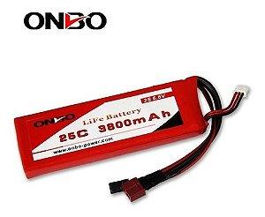 Bateria LIFE Onbo Power 3800mah 6.6v 25C