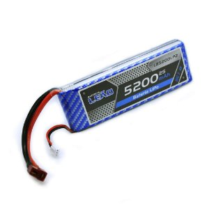 Bateria Lipo 7.4V/2S 5200mAh 30C/60C - DEAN