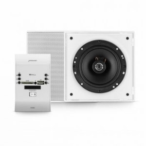 Kit Sonorização de Ambientes Frahm - Residence Preto 60W RMS