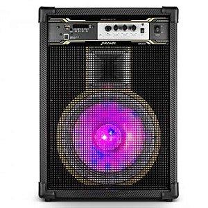 Caixa de Som Amplificada Multiuso Frahm - SD 500 Optical Bluetooth com Bateria 500W