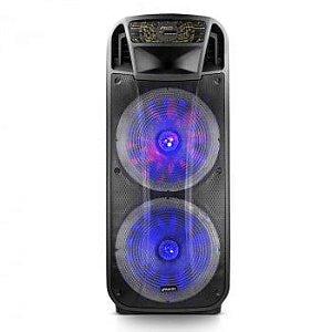 Caixa Amplificada Multiuso Frahm - CF 4000 APP Bluetooth 4000W (1000W RMS)