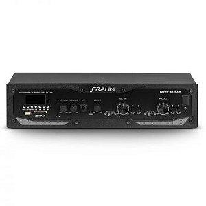 Amplificador - Receiver Profissional Frahm - GR 3800 APP Bluetooth 300W