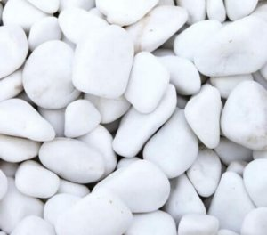 Pedra Dolomita  Branca 25 kg - Nº 1 - Jardins Vasos