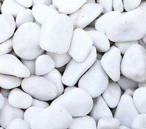 Pedra Dolomita  Branca 25kg - Nº 2 - Jardins Vasos
