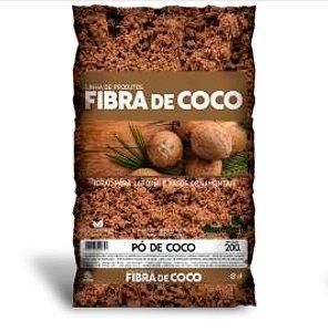 Pó de Coco Seco para Vaso 200g Humusfértil