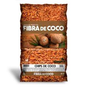Chips de Coco para Plantio e Cobertura 200 g100g Humusfértil