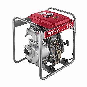 Motobomba à Diesel BD 705 E  7,0CV 3 Pol. com Partida Elétrica - BRANCO-90304213