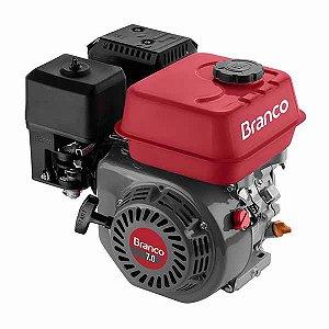 Motor à Gasolina 6,9CV 4T - BRANCO-B4T-7.0H