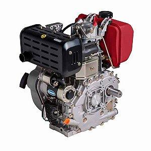Motor Horizontal A Diesel 13hp 1800rpm Bd-13.0r Partida Elétrica Branco
