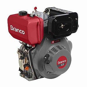 Motor A Diesel Branco BD-5.0 Partida Elétrica 211cc 5Cv