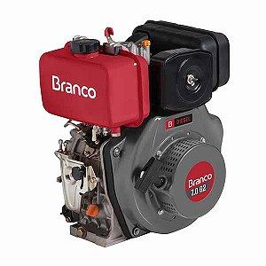 Motor A Diesel Branco BD-7.0  G2 Partida Manual 296cc 7Cv