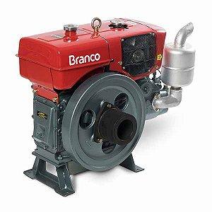 Motor à diesel 18 hp 4 tempos com radiador partida manual - BDA 18.0RA