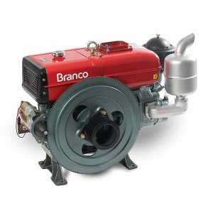 Motor A Diesel Branco BDA-22.0T 22Cv 1195cc Partida Manual