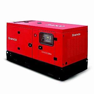 Gerador de Energia Cabinado a Diesel 4T 325kVA 220380V com ATS - BD-33000 E3 S BRANCO