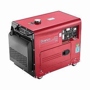 Gerador de energia à diesel 4 kva potência de 10 hp monofásico - BD-6500 ES
