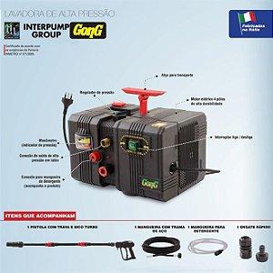 Lavadora De Alta Pressão 1680w Elétrica 220v Gong X230 Interpump