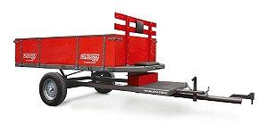 Carreta Agrícola Simples Basculante Alta P/ Micro-trator REF 510 - Maquinafort